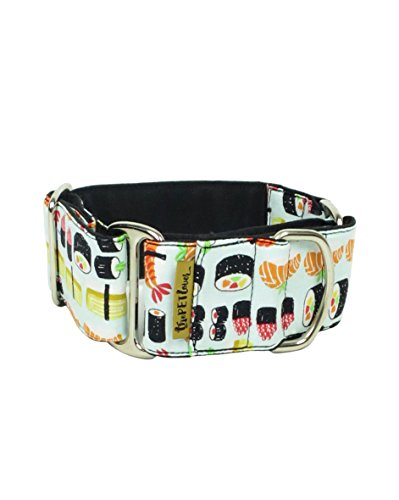ThePetLover - Collar Martingale Sushi para Perros, S