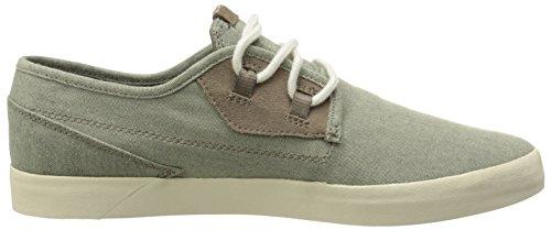 Volcom Delphi Shoe, Chaussures de Skateboard homme Beige (Oatmeal / Oat)