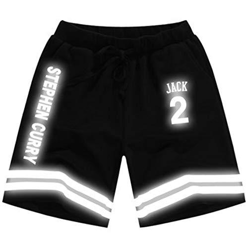 ZXM's grocery store 3D Strandhosen,Schnelltrocknend mit Taschen-Digitaldruck Badehose Shorts Surfen Stephen Curry, M