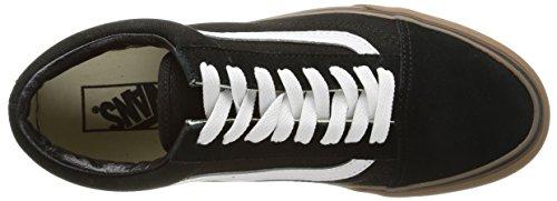 Vans U Old Skool, Baskets Basses Mixte Adulte Noir (Gumsole/Black/Medium Gum)