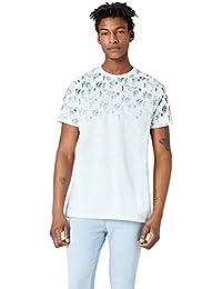 FIND T-Shirt avec Imprimé Dégradé Homme
