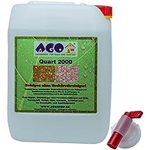 AGO Cuarto 2000 Concentrado de alta Eliminador de verdín 10 Litros concentrado. Contra Las Algas, Trenzar y varios Suelo verde. A cualquier Material, Cloro y Libre de ácido