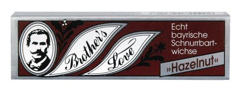 Brother`s Love 9312 Schnurrbartwichse Hazelnut 10ml