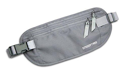 Neue Produkt verstecktem Travel–RFID Sicher Taille Geld Gürtel Tasche für Reisepässe, Geld, Kreditkarte, Ausweise (Versteckte Pic)