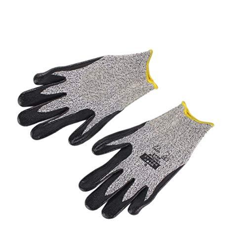 Preisvergleich Produktbild Sicherheits-Schutzhandschuhe,  1 Paar Anti-Abrieb-Schnitt-beständige Sicherheits-Arbeitsschutzhandschuhe Elektro-Schweißens-Löten Metallindustrielle Taktische Handschuhe