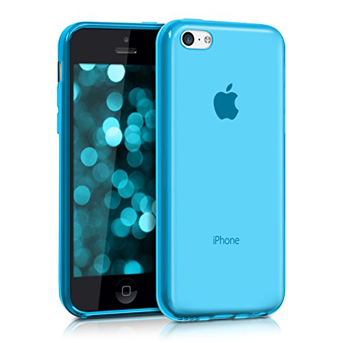 kwmobile Apple iPhone 5C Hülle - Handyhülle für Apple iPhone 5C - Handy Case in Hellblau