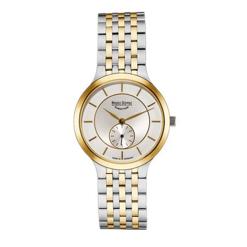 Bruno Söhnle Damen Analog Quarz Uhr mit Edelstahl Armband 17-23136-242