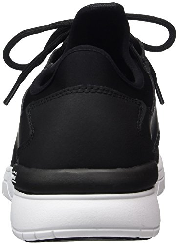 Supra Herren Flow Run Low-Top Schwarz (Black/Black-White)