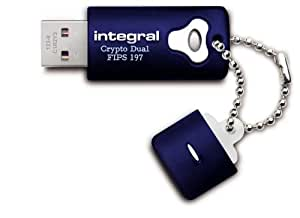 INTEGRAL 4 GB AES-256 USB Drive Crypto Total Lock WIN + MAC Master und User Passwort kompatibel mit Endpoint Security Software