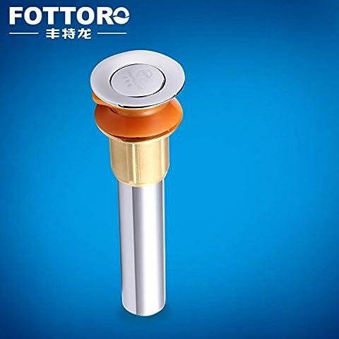 BFDGN semplice resistente e robusto rame spazzolato Bacino del banco