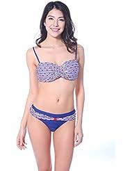 Winkee 30151 Twist Bandeau Push-up Bikini set