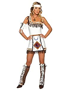 Indian Chief Costume by Roma UK 8-12