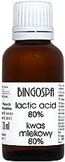 BINGOSPA Milchsäure 80% für Peeling nur für Profis - 30ml