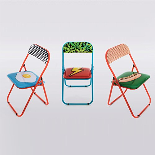 Seletti Blow Flash Folding Chair Multicolor