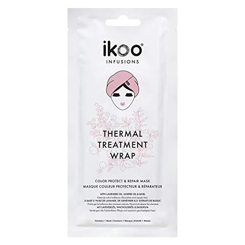 ikoo Infusions Thermal Treatment Wrap 1 Stück Pflegende & schonende Haarmaske