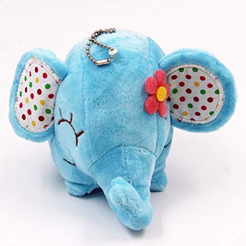 FairOnly Super Kawaii - Elefante Floral (12 cm) Muñeco de Peluche con...