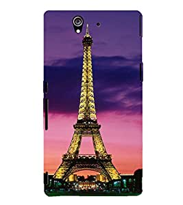 EPICCASE Effile tower Mobile Back Case Cover For Sony Xperia Z (Designer Case)