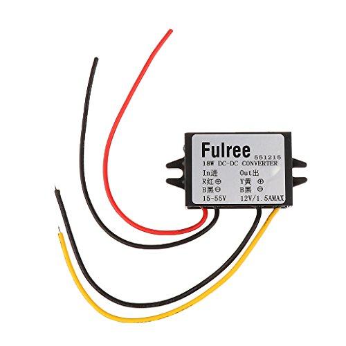 Dc 24v à 12v Convertisseur 18w Buck Démissionner Module De Régulateur De Puissance De La Voiture électrique