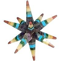 Energie geladen 7Chakra Multi Stein 12Point Kristall Merkaba-Stern Geometrie Star mit Geschenkbeutel preisvergleich bei billige-tabletten.eu