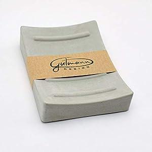Gutmann-Design Seifenschale Seifenhalter Seifenablage aus Beton Stein handgemacht in Deutschland