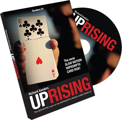 Richard Sanders Uprising by, Rising Card Trick, Improvisierter Kartensteiger - Überall und Jederzeit, Zaubertricks und Zauberartikel, Magic Trick Kartentrick