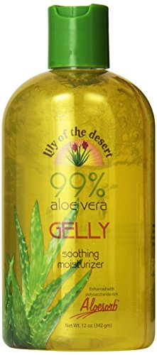 Lily of the Desert Aloe Vera Gelly Bottle, 12 Ounce