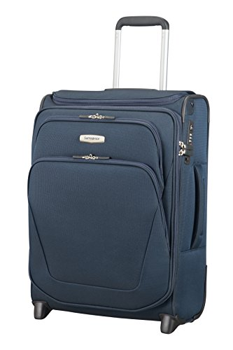 SAMSONITE Spark SNG - Upright 55/20 Expendable with SmartTop Bagage cabine, 55 cm, 48,5 liters, Bleu (Bleu)