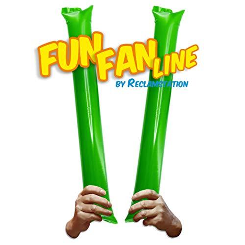 Fun Fan Line® - Pack 60 Pares de Aplaudidores hinchables de plástico....