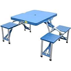 Tavolo Da Picnic Richiudibile A Valigetta Con 4 Seggiolini Incorporati.Tavolo Da Pic Nic Il Campeggio A Portata Di Clic Shopgogo