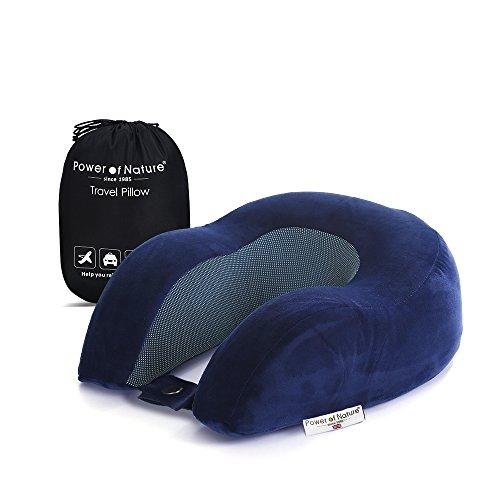 Almohadas de Viaje Sensible a la temperatura Viaje de espuma de memoria almohada Almohada Comodidad