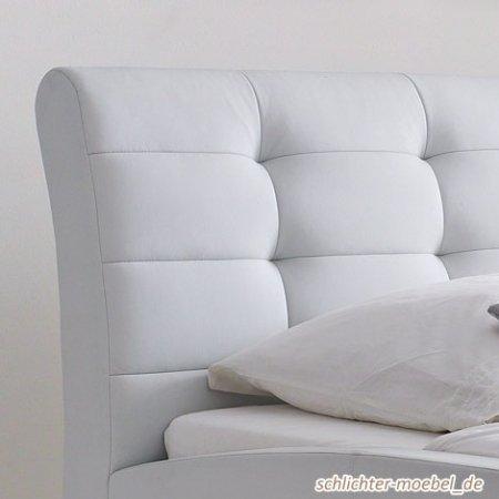 Celine Polsterbett 160x200cm Weiß