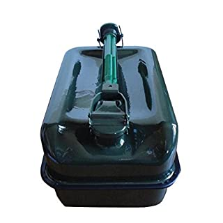 IMDIFA 97103Kanister Boden flach Metall 10L mit Ausgießer