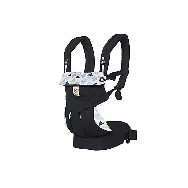 Ergobaby Baby Carrier for Toddler, 360 Collection, 4-Position Ergonomic Child Carrier and Backpack (Triple Triangles) Ergobaby Ergonomic baby carrier with 4 carry positions: front-inward, back, hip, and front-outward. The carrier is suitable for babies and toddlers weighing 5.5 to 20kg, and can be used as a back carrier. Also with insert for newborn babies weighing 3.2-5.5kg, sold separately. NEW - Maximum comfort for parent: Longwear comfort with lumbar support waistbelt and extra cushioned shoulder straps. The carrier is suitable for men and women. Maximum baby comfort - The structured bucket seat supports the correct frog-leg position for the baby. The carrier also has a padded, foldable head and neck support. Ergobaby carriers are a new take on the usual baby sling. 1