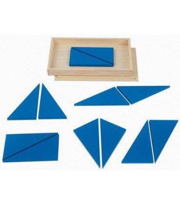 Triangulos azules Box of Blue Triangles