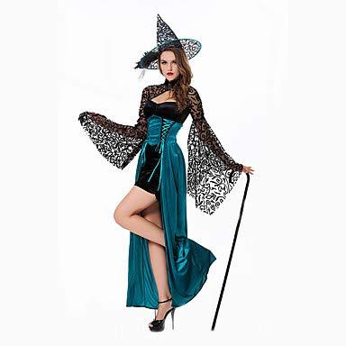 HAOBAO Cosplay Kostüme Zauberer/Hexe Fest/Feiertage Halloween Kostüme Kleid Mützen Halloween - Ideen Für Ein Zauberer Kostüm