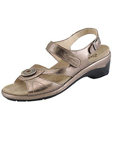 Semler Damen 21-13-11 Glattleder Komfort-Sandale Bronce
