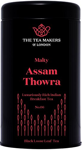 Flash-mens Tee (The Tea Makers of London  Assam TGFOP Thowra Secon Flash schwarzer Tee von prämiertem Teeshop Geschenkidee, 1er Pack (1 x 125 g))