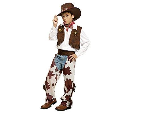Imagen de my other me  disfraz de vaquero para niño, 3 4 años, color blanco y marrón viving costumes 200833