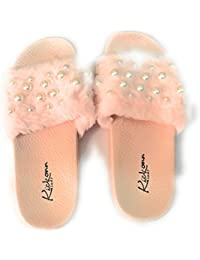 light pink,36,37,38 39 40 women Fluffy Faux fur flat slippers||Autumn winter Ladies Slip on Sliders Fluffy Faux fur Flat chappals||Ladies cotton fur slippers with Diwali,Christmas,New Year and Winter speciaL,flats,ladies ,girls slippers