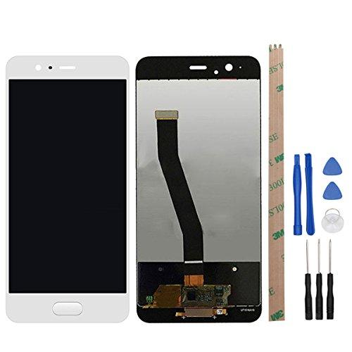 HYYT Reparatur und Ersatz LCD Display + Touchscreen Digitizer für Huawei P10 mit Frei Werkzeuge (Weiß) -