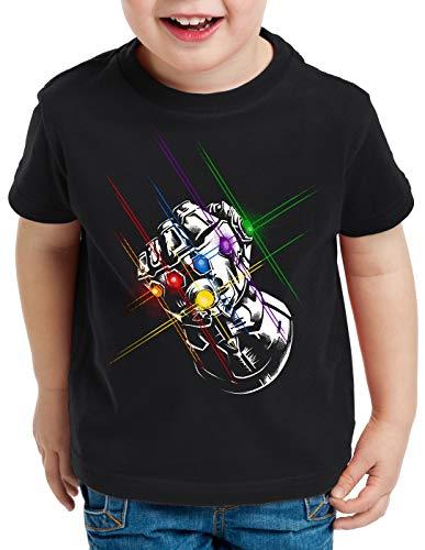 A.N.T. Thanos Fist T-Shirt für Kinder Infinity superheld Kino, Größe:164