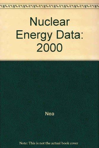Données sur l'énergie nucléaire 2000 par Nea