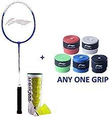 Li Ning Smash XP 707 Badminton Racket Single Player Set