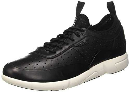 Geox U Brattley B, Sneakers Basses Homme Noir (Blackc9999)