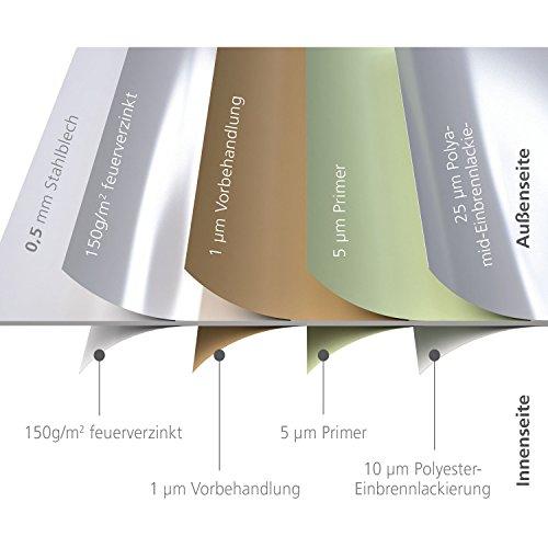 Biohort FreizeitBox, regenwasserdicht, 460L, 134x62x71cm - 5
