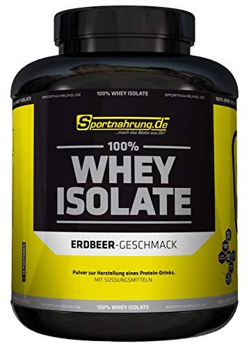 Sportnahrung.de 100{278e4049fc81b27d544d26d9fd6c051725353e645dff6439da7e63160a909c07} Whey Isolate - hochwertiges Whey Protein Isolat zum Bestpreis - angereichert mit BCAAs & Glutamin - ideal zur Förderung Muskelaufbau 2000g, Vanille