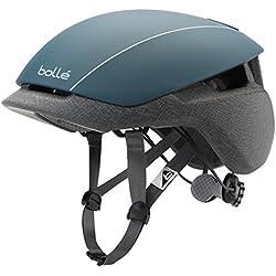 Bollé Messenger Standard Cascos Ciclismo, Unisex Adulto, Petrol/Grey, 54-58 Cm