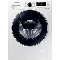 Lave linge Hublot Samsung WW80K5410UW - Lave linge Frontal - Pose libre - capacité : 8 Kg - Vitesse d'essorage maxi 1400 tr/min - Moteur à induction - Classe A+++
