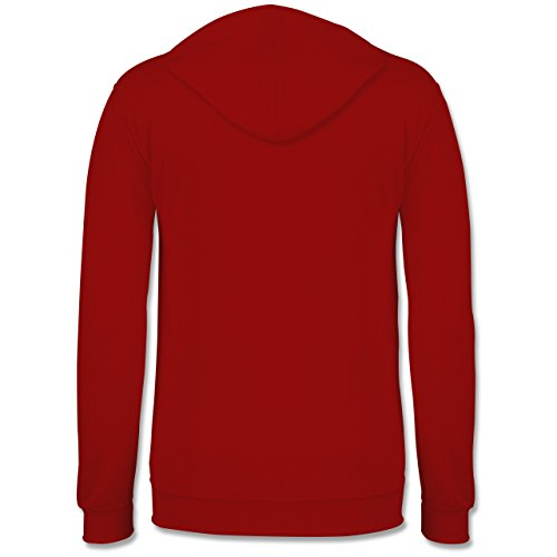 Romantisch - Love is simple - Männer Premium Kapuzenpullover / Hoodie Rot