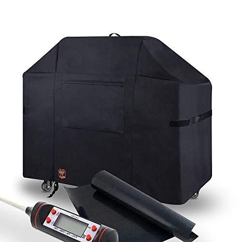 Yukon Glory Original 7553 Premium Cover. Water Resistant Heavy Duty Material Fits Weber Genesis E & S 300 Series Gas Grills -